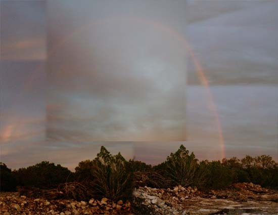 Beautiful Rainbow on Texas Property